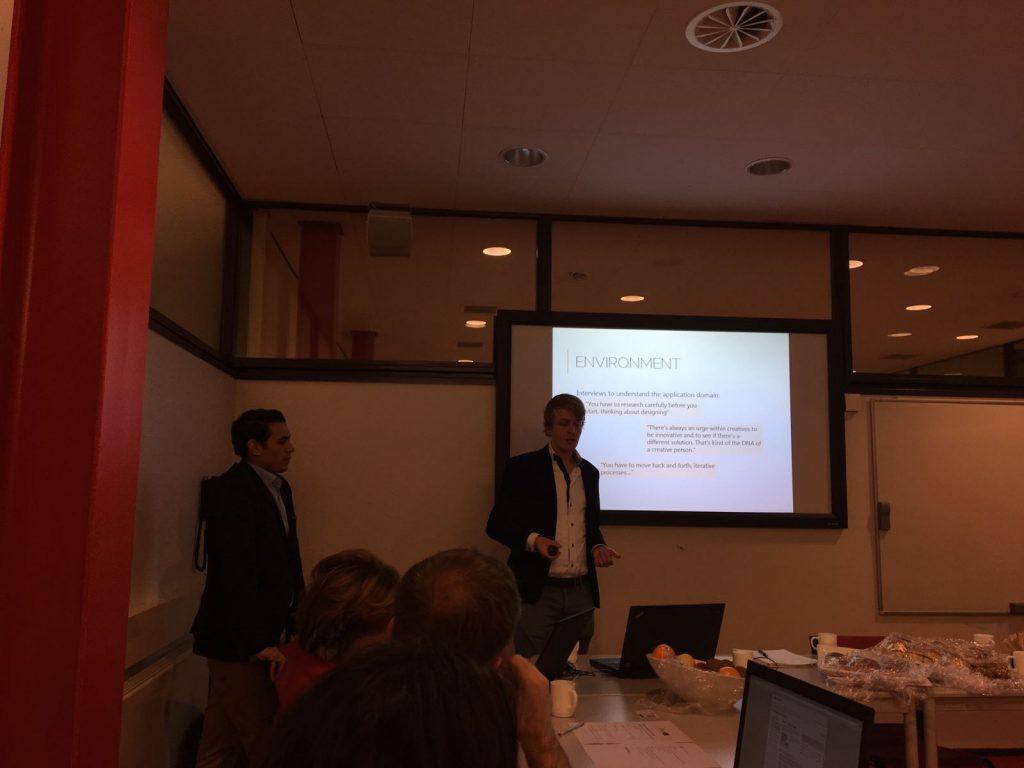 Presentation at Reversible Building Design BIM workshop